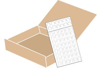 梱包セット(小)コース梱包方法その3
