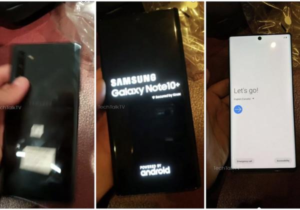 Galaxy Note10+のリーク画像