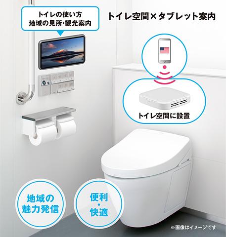 おもてなしトイレ(イメージ)