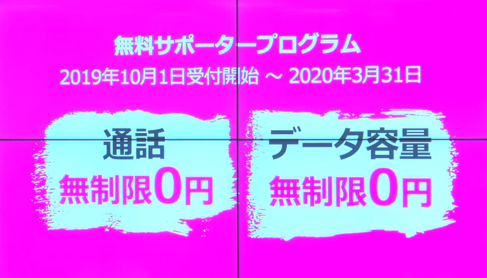 楽天通話無制限0円 データ容量無制限0円