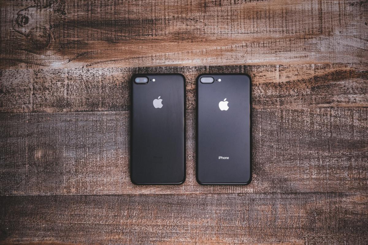 iPhone 7 とiPhone 8