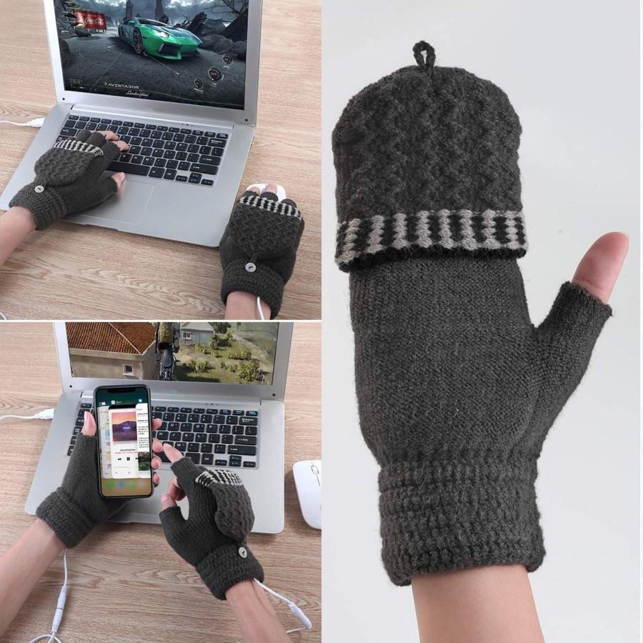 USBヒーター手袋